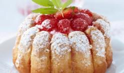 Charlotte aux fraises, la recette facile