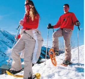 Une jolie paire de raquettes à neige rien que pour moi