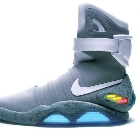 Nike marty mcfly, les baskets mode