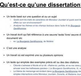 Comment reussir une dissertation ?