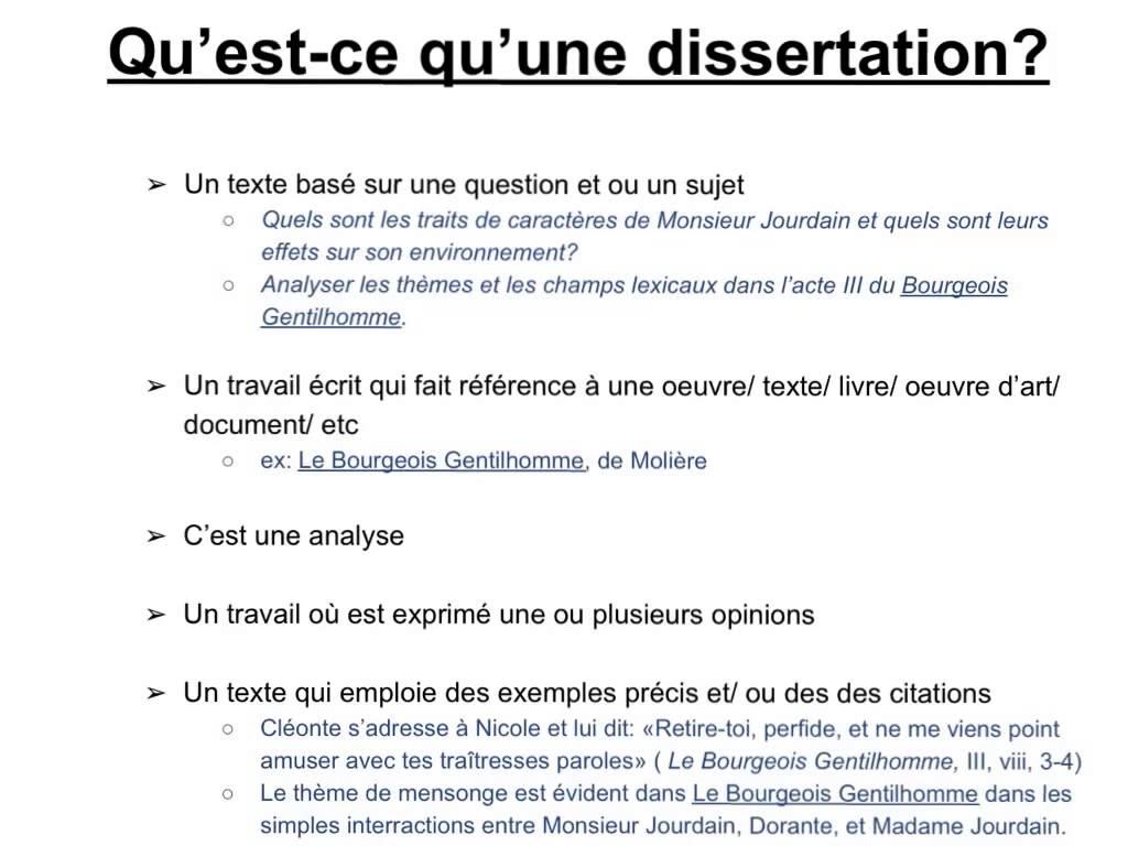 Dissertation defendre une cause