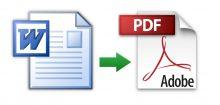 Comment mettre un fichier en pdf ?